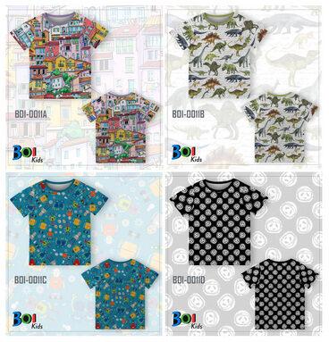 WA 0812-2411-6545 | Baju Kaos Aneka Motif Anak