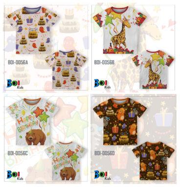 Custom Kaos Anak Ulang Tahun | WA 0812-2411-6545
