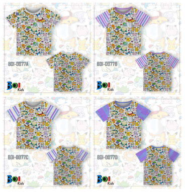Kaos Anak Printing Murah